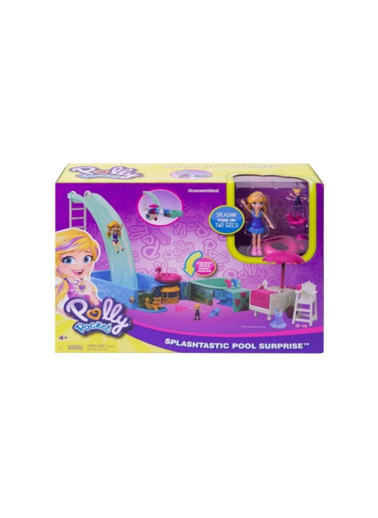 Polly Pocket Polly Pocket Havuz Partisi Oyun Seti Renkli